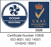 ISOQAR Registered - Certificate Number 10908